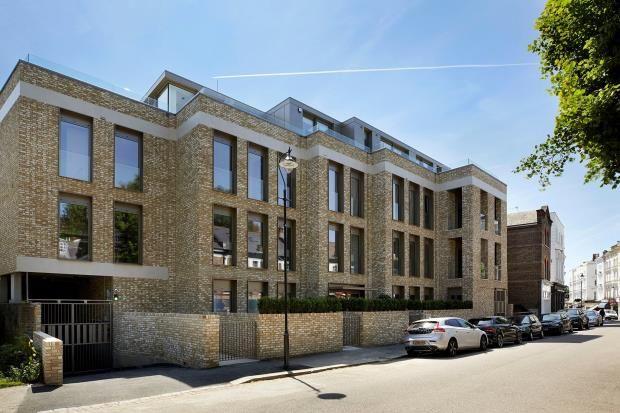 Thumbnail Flat for sale in Belsize Lane, Belsize Park, London