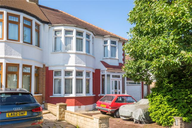 Thumbnail Semi-detached house for sale in Oaklands, Winchmore Hill, London