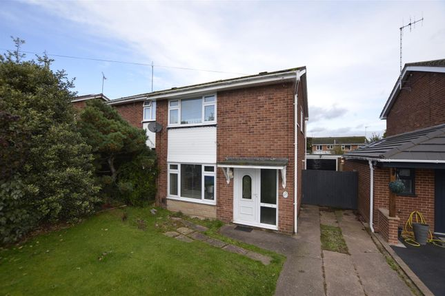 Semi-detached house for sale in Bracken Way, Rugeley