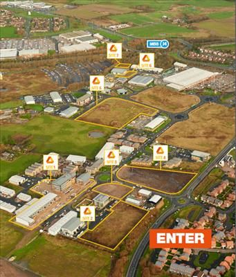 Thumbnail Commercial property for sale in Sites 2-7, Whitehills Business Park, Hallam Way, Blackpool