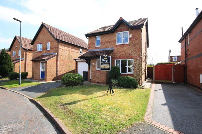 Thumbnail Detached house to rent in Ashington Close, Wigan