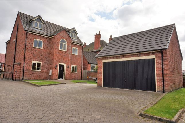 Thumbnail Detached house for sale in Fitzgerald Court, Hucknall Nottingham