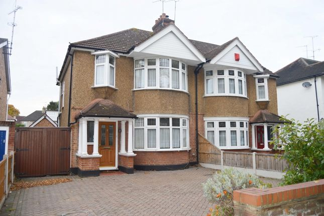 Semi-detached house for sale in Avenue Road, Harold Wood, Romford