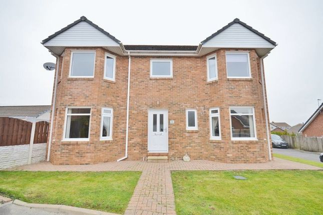 Thumbnail Detached house for sale in Merlin Drive, Moresby Parks, Whitehaven