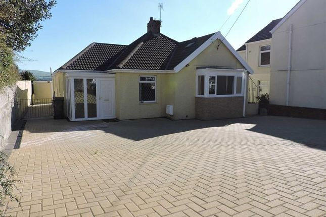 Thumbnail Detached bungalow for sale in Alexander Road, Rhyddings, Neath