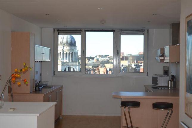 Thumbnail Flat to rent in 92 One Fletcher Gate (Penthouse), Adams Walk, Nottingham
