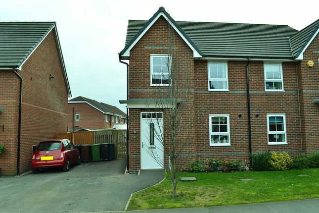 Thumbnail Semi-detached house to rent in Findleycook Road, Highfield, Wigan