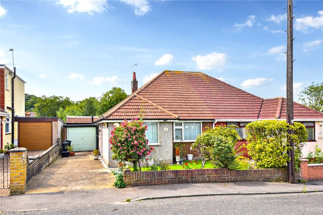 Thumbnail Semi-detached bungalow for sale in Red Lodge Road, Joydens Wood, Kent