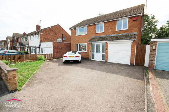Thumbnail Detached house for sale in Rushmere Walk, Leicester Forest East