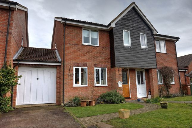 Thumbnail Semi-detached house for sale in Farrow Close, Dereham