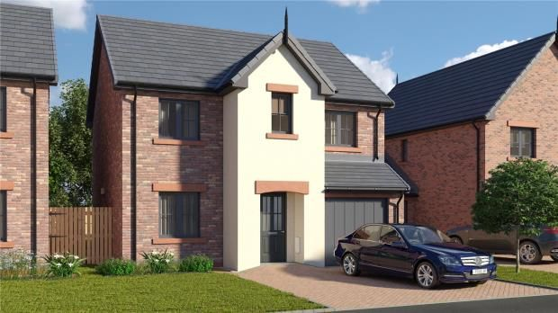 Thumbnail Detached house for sale in Plot 2 The Wreay, St. Cuthberts Close, Wigton