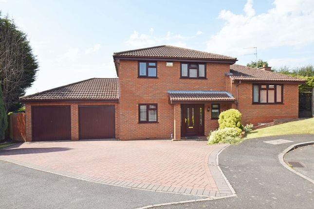 Detached house for sale in Cornwell Close, Redditch