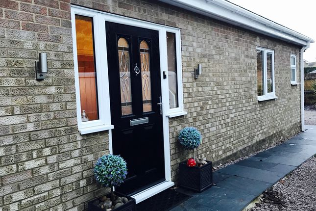 Thumbnail Bungalow for sale in West End, Whittlesey, Peterborough