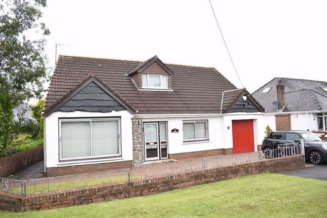 Thumbnail Detached bungalow for sale in Pontardulais Road, Penllergaer, Swansea
