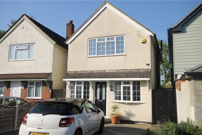 Thumbnail Detached house to rent in Bourneside Road, Addlestone, Surrey