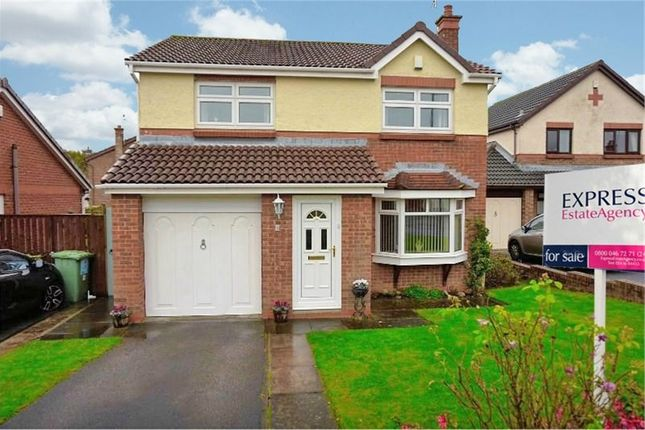 Thumbnail Detached house for sale in Hilton Drive, Peterlee, Durham