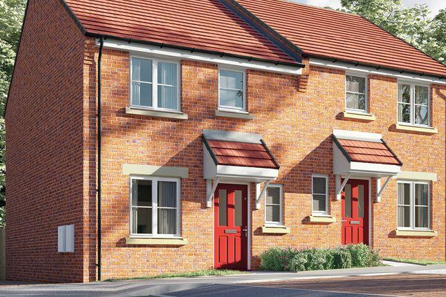 Thumbnail Semi-detached house for sale in Saints Quarter, Steelhouse Lane, Wolverhampton, West Midlands