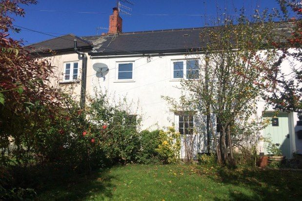 Thumbnail Cottage to rent in Coldharbour Uffculme, Cullompton