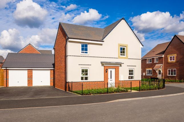 "Thumbnail Detached house for sale in ""Alderney"" at Birmingham Road, Bromsgrove"