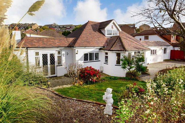 Thumbnail Detached bungalow for sale in The Ridgway, Woodingdean, Brighton, East Sussex