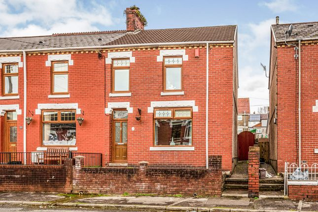 Thumbnail End terrace house for sale in Turberville Street, Maesteg