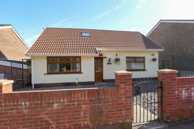 Thumbnail Detached bungalow for sale in Ynysfach, Merthyr Tydfil