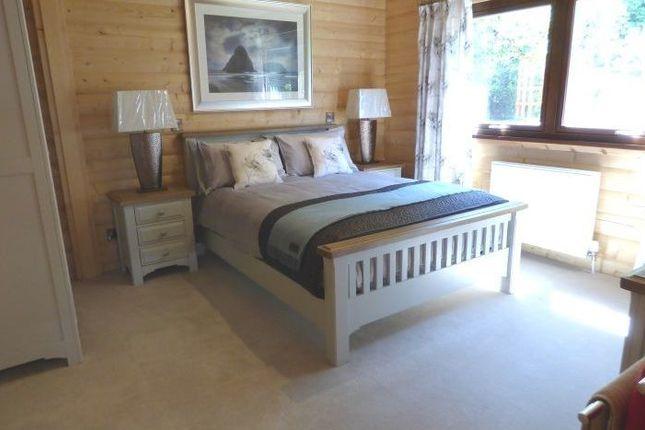 Master Bedroom of Lodge 6, Alpine Meadow, Kippford Dalbeattie DG5
