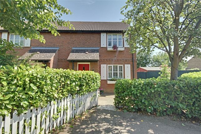 Thumbnail End terrace house for sale in Mallards Rise, Harlow, Essex