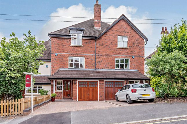 Thumbnail Town house for sale in College Hill, Sutton Coldfield