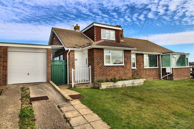 Thumbnail Semi-detached bungalow for sale in Hawth Grove, Seaford, East Sussex