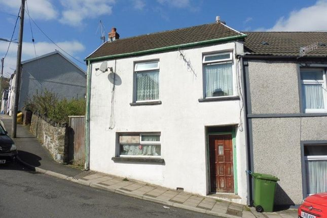 Thumbnail End terrace house for sale in Mount Hill Street, Aberaman, Aberdare