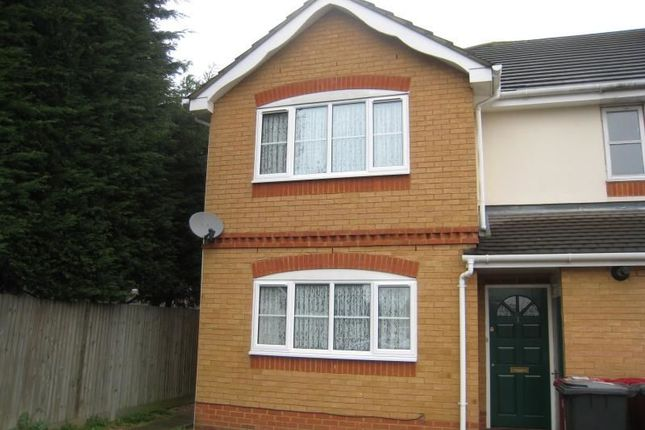 Thumbnail Semi-detached house to rent in Tilbury Walk, Langley, Slough