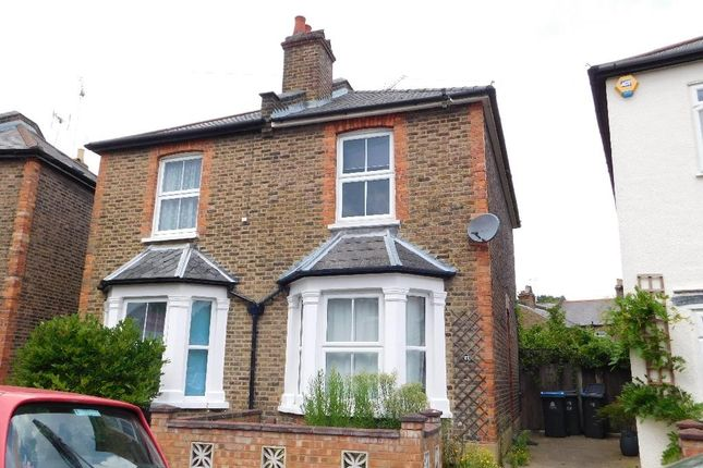 Thumbnail Semi-detached house to rent in Linden Crescent, Norbiton, Kingston Upon Thames
