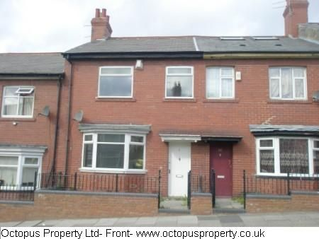 Thumbnail Terraced house to rent in Fairholm Road, Newcastle Upon Tyne