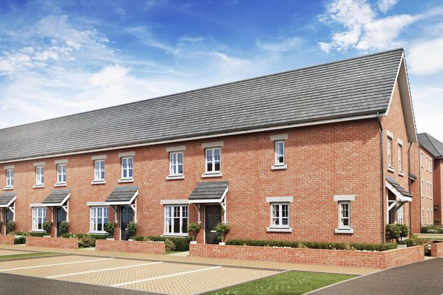 """Thumbnail End terrace house for sale in """"Amber"""" at Greenkeepers Road, Biddenham, Bedford"""
