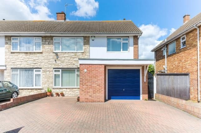 Thumbnail Semi-detached house for sale in Tiverton Road, Bedford, Bedfordshire