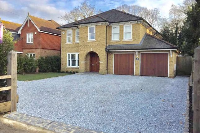 Thumbnail Detached house for sale in Elvetham Road, Fleet