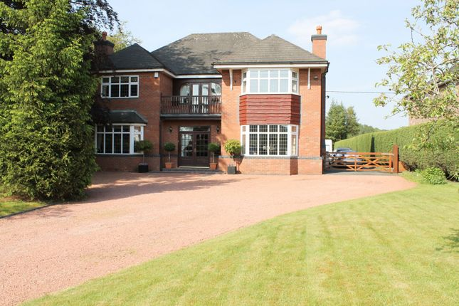 Thumbnail Detached house for sale in Holmes Chapel Road, Somerford, Congleton