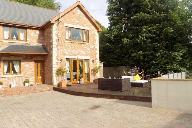 Thumbnail Detached house for sale in Oakleigh, Upper Gwastod Terrace, Cwmtillery, Abertillery. 1Jz.