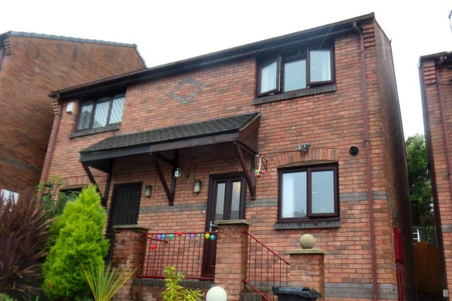 Thumbnail Semi-detached house for sale in Heritage Court, Merthyr Tydfil