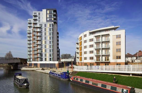 Thumbnail Flat for sale in Fairbanks Court, Atlip Road, Wembley