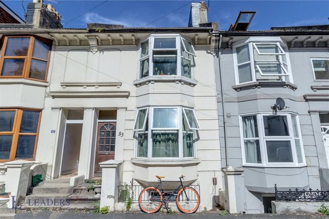 Thumbnail Terraced house for sale in Argyle Road, Brighton, East Sussex