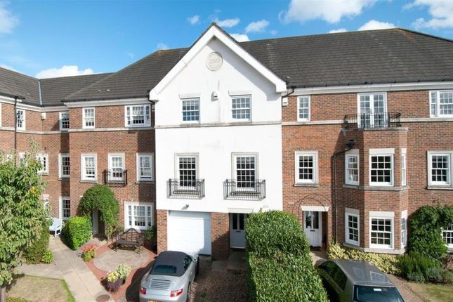 Thumbnail Town house to rent in Cleeve Court, Kings Hill, West Malling