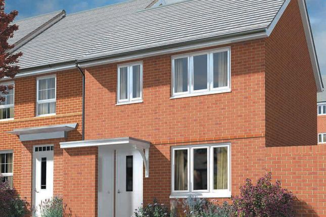 "Thumbnail Semi-detached house for sale in ""Opal"" at Captains Parade, East Cowes"