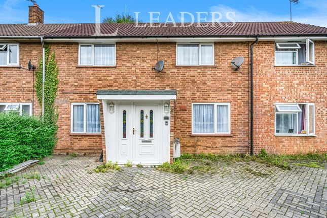 Thumbnail Terraced house to rent in Holly Close, Hatfield