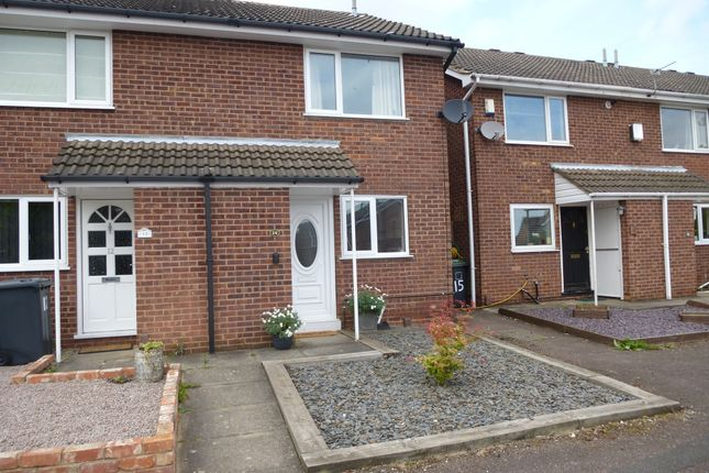 Thumbnail Town house for sale in Roxton Court, Kimberley, Nottingham