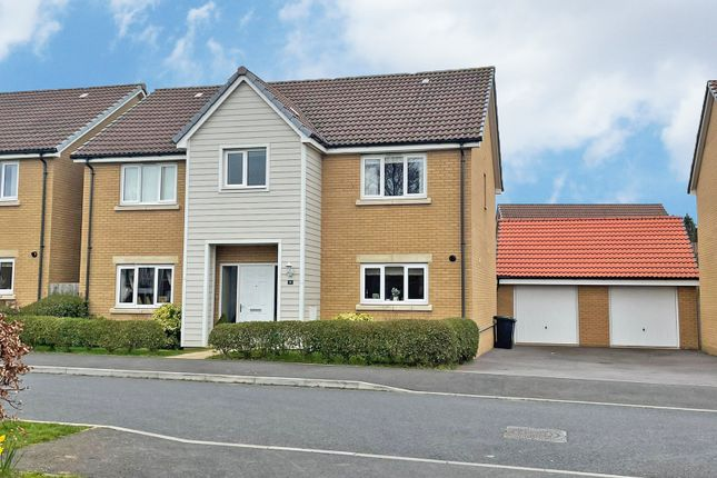 Thumbnail Detached house for sale in Mountbatten Drive, Exeter