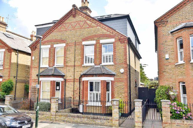 Thumbnail Semi-detached house to rent in Heath Gardens, Twickenham
