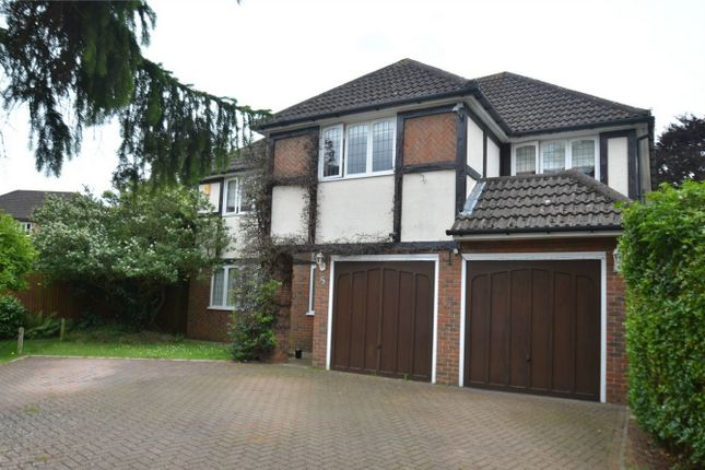 Thumbnail Detached house for sale in Potters Close, Shirley, Surrey