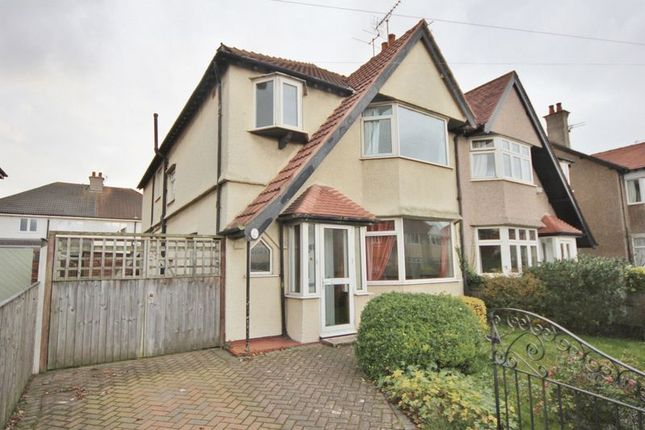 Thumbnail Semi-detached house for sale in Saxon Road, Hoylake, Wirral